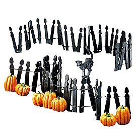 Dept. 56 Village Halloween Fence]()