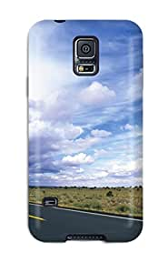 Snap-on Road Case Cover Skin Compatible With Galaxy S5 by supermalls