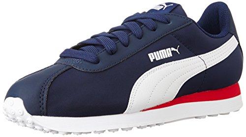 Puma Pumaturinnlf6, Zapatillas Deportivas para Interior Unisex adulto Azul (Peacoat-White 02 )