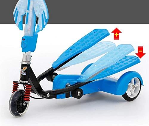 HoEOQeT Biplano para niños Triciclo Infantil Rana de Fitness Doble Pedal (Color : Azul): Amazon.es: Deportes y aire libre