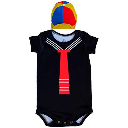 Body Bebê Fantasia Quico - Isabb