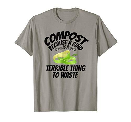 (compost bin Tee composting tumbler Funny Gift T shirt)