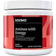Amazon Brand - Solimo Aminos with Energy, Fruit Punch, 30 Servings