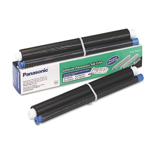 Panasonic® - KXFA91 Film Roll Refill, Black, 2 Rolls/Box - Sold As 1 Box - Excellent performance.