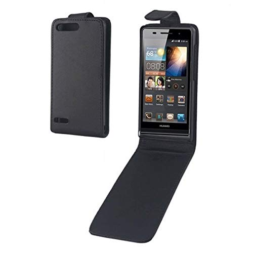 Phone Accessory Vertical Flip Leather Case for Huawei Ascend G6-T00 3G / P6 Mini(Black) Leather Cases for Phone]()