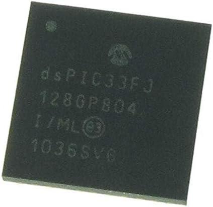 Digital Signal Processors /& Controllers DSC 16B DSC 44LD128KB DMA 40MIPS Pack of 10 dsPIC33FJ128GP804-I//ML DSP