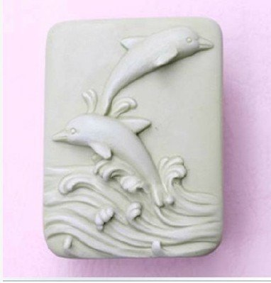 [Let'S Diy Jumping Dolphins 3D Silicone Candle Moulds Handmade Soap Mold] (Costumes For Adults Diy)
