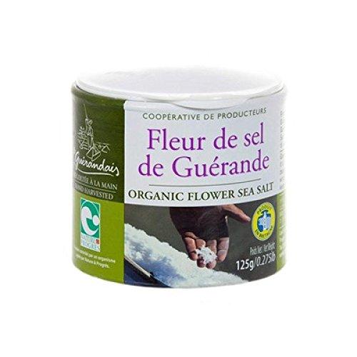 Fleur De Sel De Guerande 250 G (1 PACK)