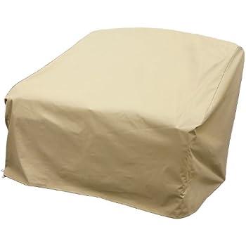Amazon Com Modern Leisure Patio Furniture Love Seat Cover