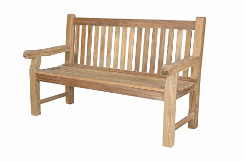 - Anderson Teak Devonshire 3-Seater Extra Thick Bench, Natural