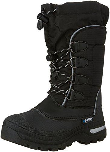 [Baffin Kids' Pinetree Snow Boot, Black, 4 M US Big Kid] (Baffin Footwear)