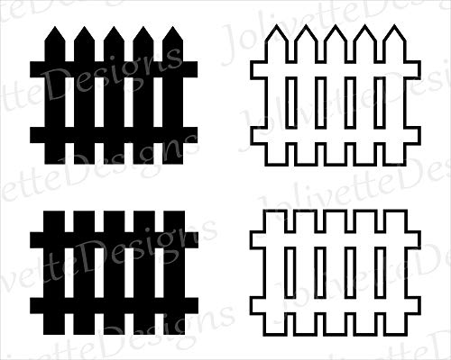Moira Fence Picket Fence Wood Fences Post Stake Design vinly Decal Decal Sticker