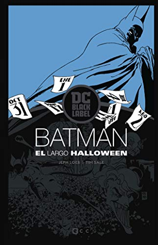 Batman: El largo Halloween – Edición DC Black Label por Jeph Loeb,Tim Sale,Tobar Pastor, Felip