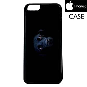 Black Labrador Dog Apple iPhone 6 PLASTIC cell phone Case / Cover Great Gift Idea