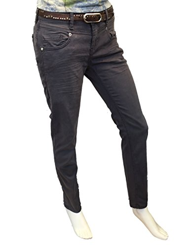 Grau Used Zip Amor Truth Anthra amp; Att Donna Trust Jeans fqzWU