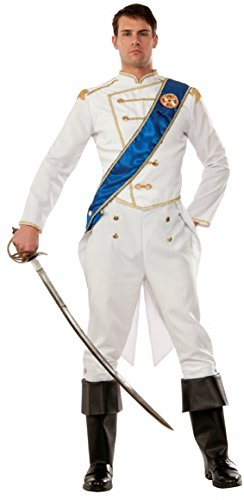 Forum 75654 Men's Happily Ever After Prince Costume, One Size, Multicolor, Pack of 1 -