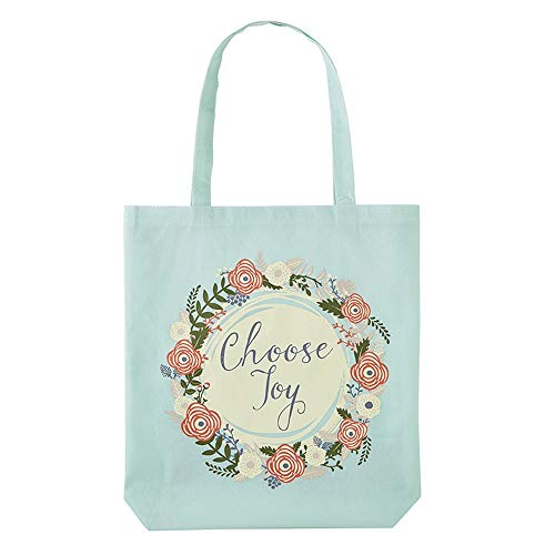 Floral Choose Joy Tote Bag, 16 - Christian Religious Bag Tote