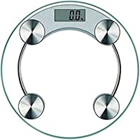 Majron Life Personal Bathroom Body Weight Machine Digital Weighing Scale (White)