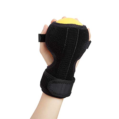 Finger Posture Corrector Anti-Spasticity Ball Splint Hand Functional Orthosis Hand Ball Rehabilitation Exercise Hemiplegia