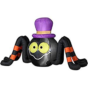 Amazon.com: Halloween Inflatable 4' Long Spider w/ Top Hat