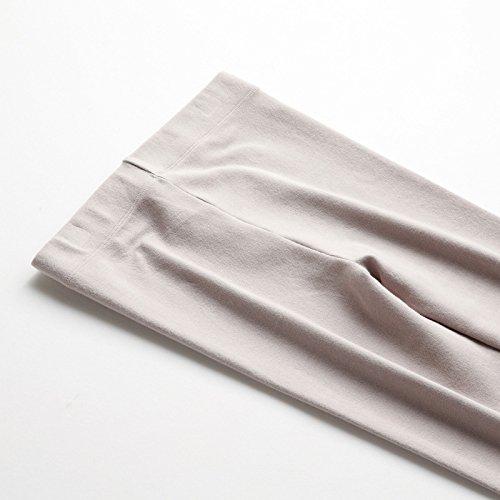 GBHNJ Leggings L'Automne Et L'Hiver Femmes Plus Épais Thermique Transparent Mince Peut Se Porter À L'Extérieur Teint F(Poids Approprié 80-130 Catty)