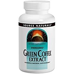 Source Naturals Green Coffee Extract, Energizing Powerful Natural Antioxidant, 120 Tabs