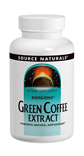 SOURCE NATURALS Energizing Green Coffee Extract 400 Mg Tablet, 120 Count by Source Naturals