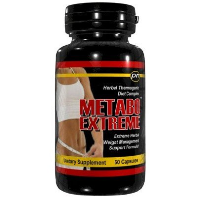 Metabo Extreme Fat Burner Poids Loss Diet Pill 60 Caps