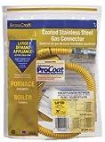 "Brass Craft CSSC21-36P 36"" Stainless Steel Gas Range Connector"