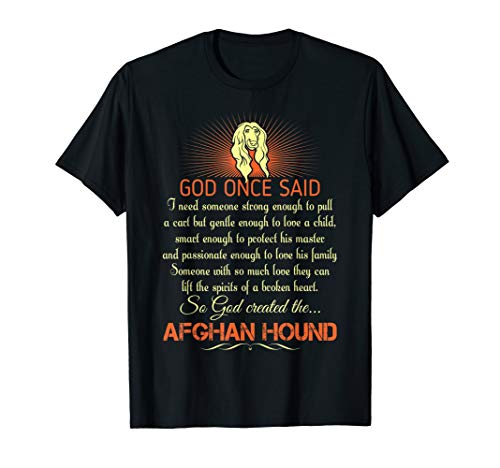 Someone With So Much Love God Made Afghan Hound T-shirt ()