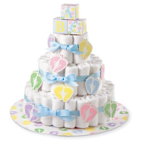 Wilton Baby Shower Diaper Cake Kit