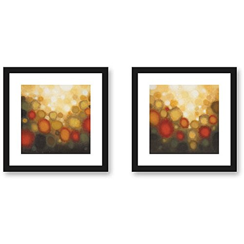 Sean Jacobs 'Garden Party' 2-piece Framed Living Room Art Print Set