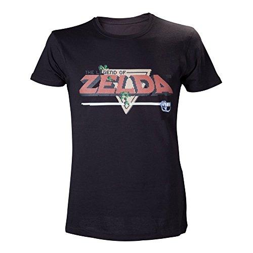 Zelda Herren T-shirt Legend of Zelda, Schwarz