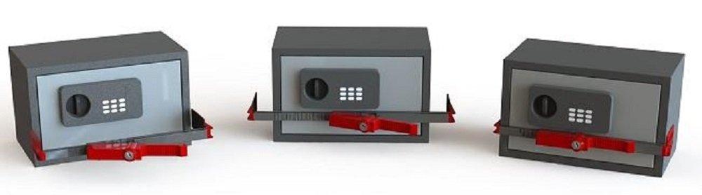 BloXsafe Hotel Room Safe Lock, Travel Security - Locking