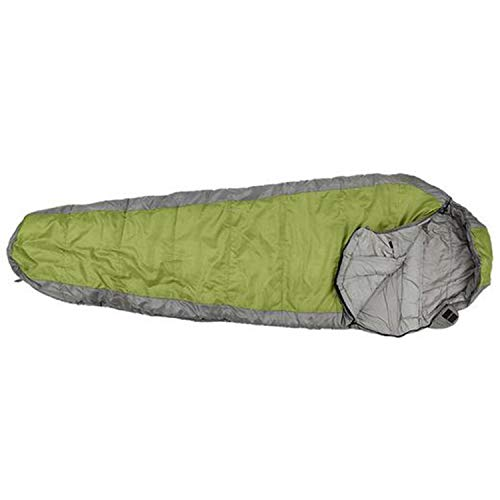 Little Mummy Sleeping Bag - LNYF-OV Mummy Sleeping Bag, Camping Indoor Winter Double Thickened Moisture, Adult Compression Bag, Green, Size: 2208050cm