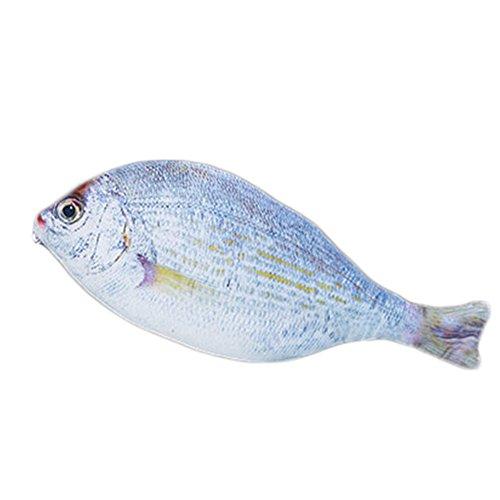 cupcinu Simulation Silber Fisch Aufbewahrungstasche Pencil-Bag Baumwolle Material Federmäppchen Pen Tasche 86z0NCIUA