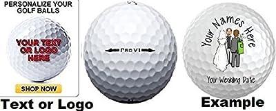 3 Dozen - 36 Titleist Pro V1 Custom LOGO Refinished Mint Golf Balls Upload Your Own Text Or Image