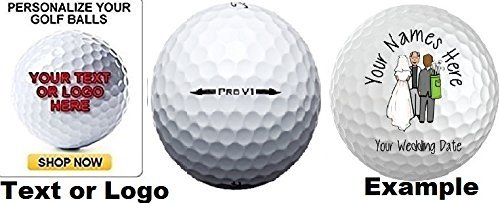 Personalized Pro V1 - 3 Dozen - 36 Titleist Pro V1 Custom LOGO Refinished Mint Golf Balls Upload Your Own Text Or Image