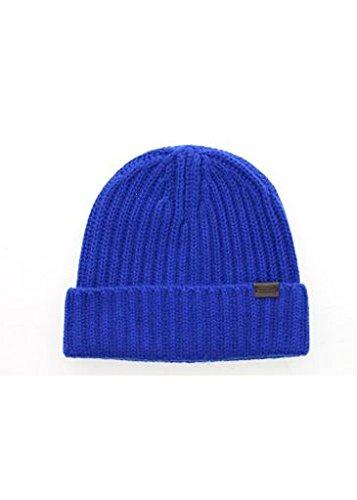 Cobalt Blue Beanie - 2