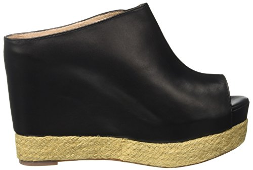 Jeffrey Campbell Black Negro Virgo Nero Leather Mujer Tacones SR6qSWrdOw
