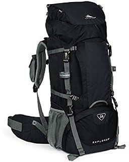 e16076fd7fa High Sierra Explorer 55L Top Load Internal Frame Backpack Pack, High-Performance  Pack for