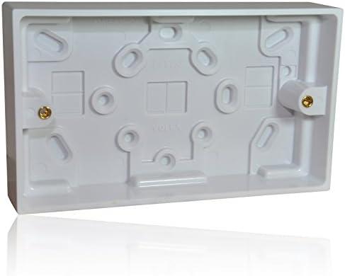 Diseño de doble/cajas para RJ45/HDMI/SVGA placa o 230 V 2 22 enchufe de pared: Amazon.es: Electrónica