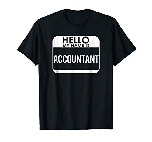 Accountant Costume T-Shirt Funny Easy Halloween