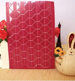 Cream Mini Photo Album - 1 Sheet=102 Pcs Instax Mini High Hand-Made Material Album Decor Sticker Retro Pvc Photo Corner G