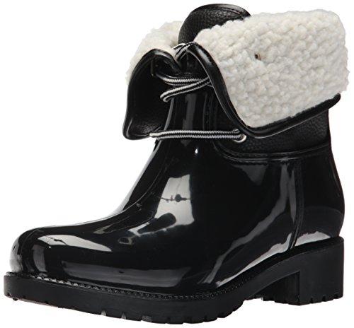 Womenâ S Shearling De Calgary Bottes ™ Noir Pluie Dav De € dqUxtdH