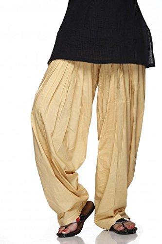 Ladyline PlainPatialaSalwar Pants-100% Cotton-in Many Colours- Kameez Kurti Tunic Yoga