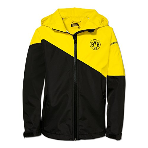 BVB-Regenjacke für Kinder (gelb) 164
