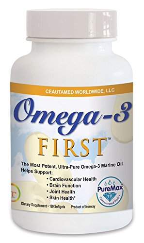 Greens First Ultra Pure Omega-3 Marine Oil, 120 (Greens First Meal)