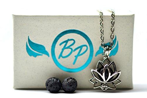 Petite Lotus Essential Oil Necklace / 18