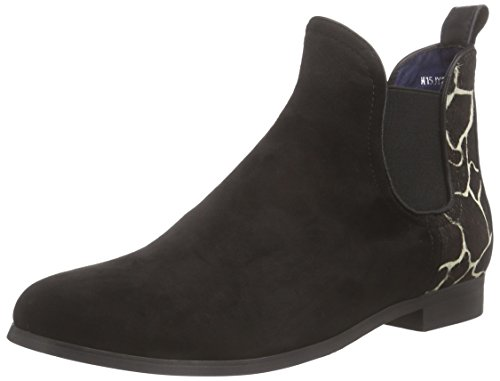 Jy1529 Stivaletti schwarz black Donna Nero Giudecca Bt15 1 TUdTgq